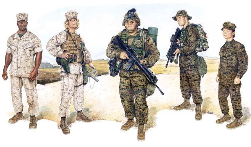 Marine Corps Uniform Plates 88